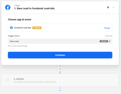 Zapier Facebook Leads Ads